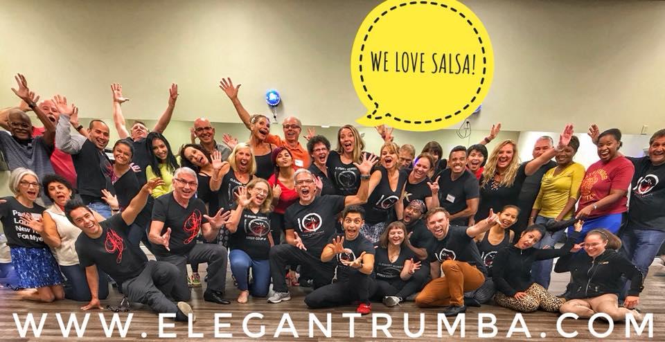 Elegant rumba 8 weeks salsa challenge