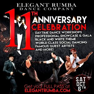 Elegant Rumba's 11-Year Anniversary Celebration/Gala